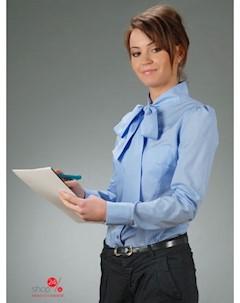 Рубашка цвет голубой Oxane