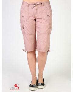 Бриджи цвет розовый Unionbay