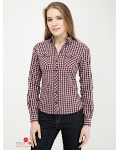Рубашка цвет бордовый Lee cooper
