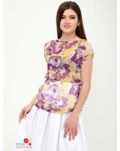 Блуза цвет сиреневый Van gils