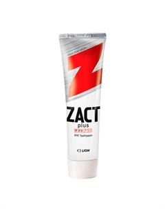Зубная паста для курящих Zact Toothpaste Cj lion