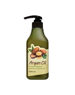Шампунь кондиционер для волос Argan Oil Complete Volume Up Shampoo Conditioner Farmstay