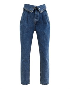 Синие джинсы с высокой талией Re/done