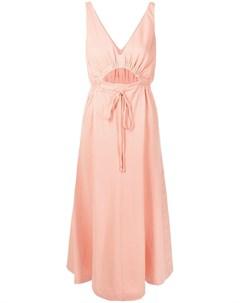 Платье миди без рукавов с вырезами Alice mccall