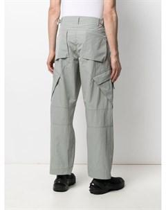 Прямые брюки карго Attachment