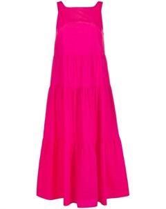 Платье макси без рукавов с квадратным вырезом Patrizia pepe