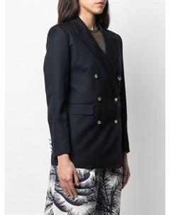 Двубортный пиджак на пуговицах Etro