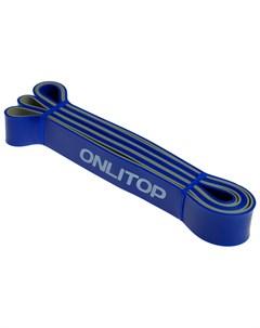 Эспандер ленточный многофункциональный 208 х 3 2 х 0 45 см 15 40 кг цвет синий чёрный Onlitop