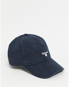 Темно синяя бейсбольная кепка Barbour