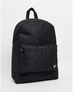 Черный рюкзак Lyle & scott