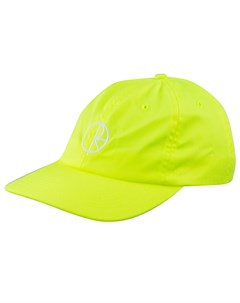 Кепка POLAR SKATE CO Stroke Logo Caps NEON YELLOW Polar