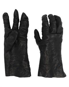Перчатки с жатым эффектом Boris bidjan saberi