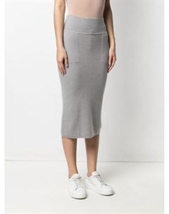 Трикотажная юбка карандаш Sminfinity