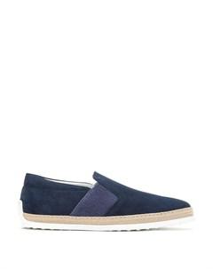 Туфли с эластичными вставками Tod's