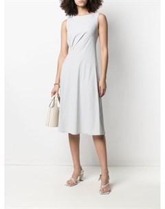 Платье со сборками Patrizia pepe