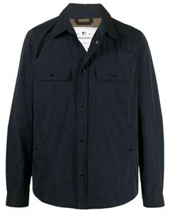 Куртка рубашка с нагрудными карманами Woolrich