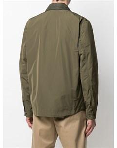 Куртка рубашка с контрастным воротником Woolrich
