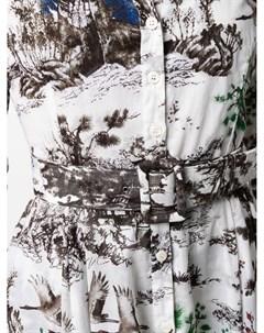 Платье рубашка с принтом Samantha sung