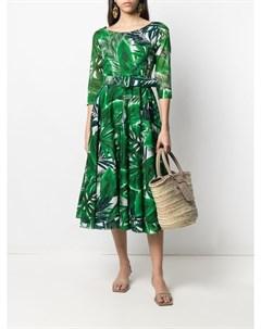 Платье миди с принтом Samantha sung