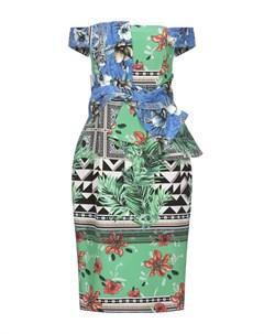 Платье до колена Paolo petrone