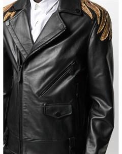 Куртка с вышивкой Golden Eagle Philipp plein