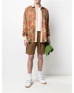 Рубашка с длинными рукавами и цветочным принтом Drôle de monsieur