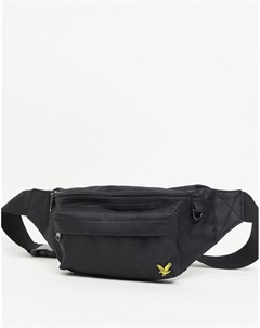 Черная сумка через плечо Lyle & scott