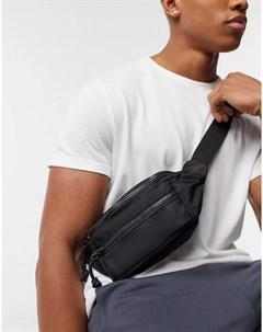 Черная сумка через плечо Topshop Kora Topman