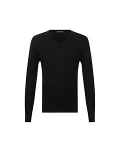 Шелковый пуловер Dolce&gabbana