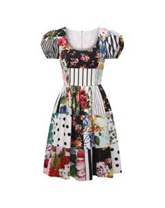 Хлопковое платье Dolce&gabbana