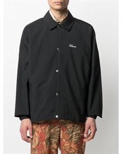 Куртка рубашка NFPM с надписью Drôle de monsieur