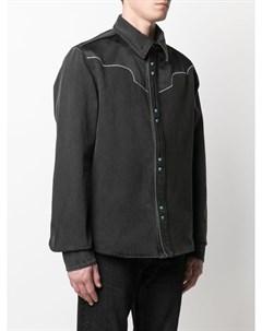 Куртка рубашка в стиле вестерн с логотипом Arrows Off-white
