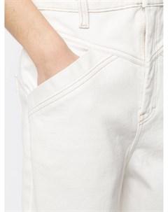 Зауженные джинсы с завышенной талией Manning cartell