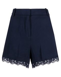 Короткие шорты с кружевом Ermanno ermanno