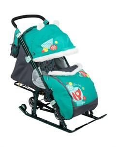 Санки коляска 7 2 Nika-kids