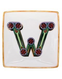 Декоративная тарелка W Versace home