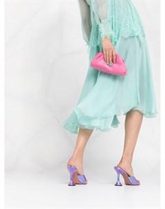 Расклешенное кружевное платье Maria lucia hohan