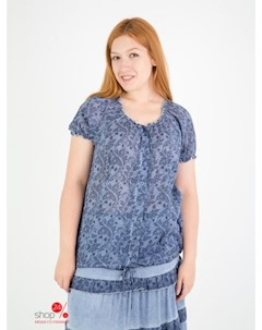 Блуза цвет синий Domene