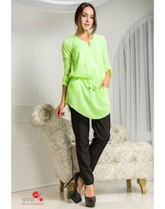 Блуза цвет салатовый Flf
