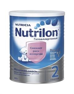 Молочная смесь Гипоаллергенный 2 6 12 месяцев 400 г Nutrilon