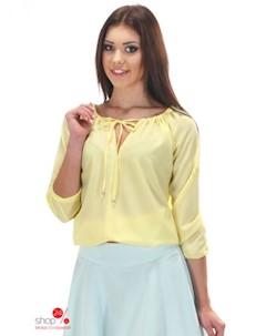 Блуза цвет желтый Simmi