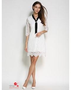 Платье цвет белый Une fleur