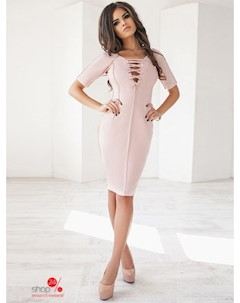 Платье цвет розовый Podium