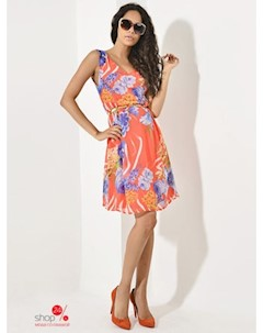 Платье цвет коралловый Mirliva
