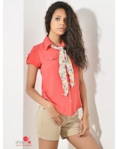Рубашка цвет коралловый Mirliva