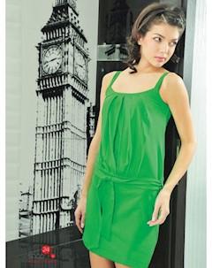 Платье цвет зеленый V & v