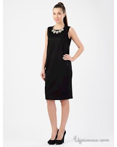 Платье цвет черный Tuzun