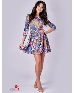 Платье цвет мультиколор Вендетта