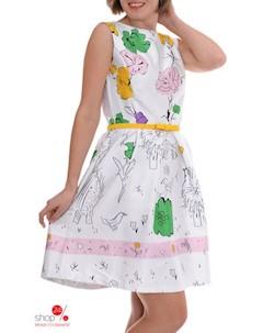 Платье цвет мультиколор Petti dress