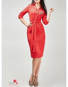 Платье цвет красный Fusion